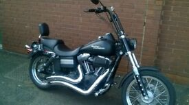 custom Harley Davidson streetbob chopper