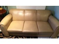 One 3 seater & one single sofa- FREE