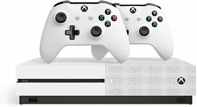 Microsoft Xbox One S 1TB Two Controller Console Bundle