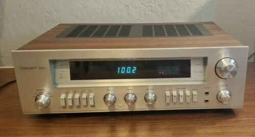 CONCEPT  7.5D Vintage Stereo Receiver - Rare - Tested - Audiophile - Serviced