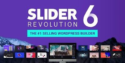 Slider Revolution 6 Plugin Best Selling Wordpress Builder - Last Update -