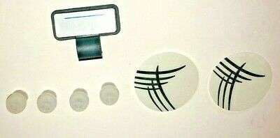 Stethoscope Ear Tips Replacement Diaphragms 1.75 W Plastic Name Holder New