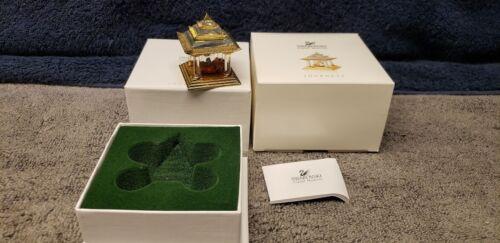 Swarovski Crystal Journeys Japanese Temple Ship NEW With Box