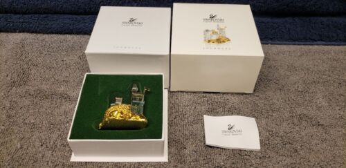 Swarovski Crystal Journeys Castle Ship NEW With Box