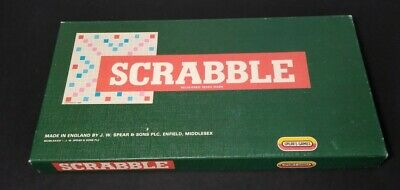 Antique Scrabble Game 1948-1954 In Original Box, Estate Find, Old, Must See