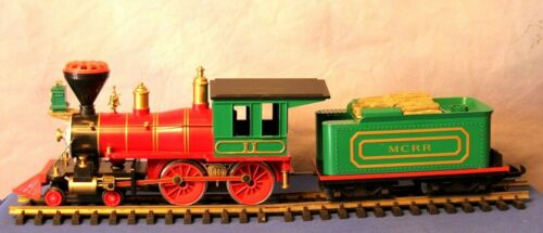 MCRR Mountain Central 4-4-0 Kalamazoo G-Gauge Train Set Original Box Rare USA