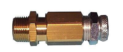 Válvula de seguridad sobrepresión 1/4 ajustable