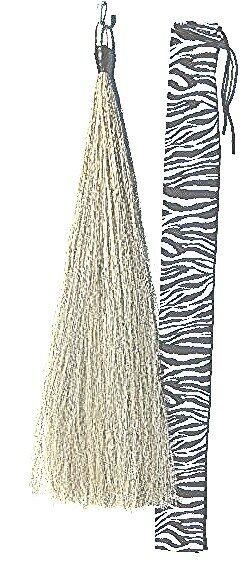 Light Grey Tail Extension 36 inch NEW 1/2lb KATHYS TAILS Free BAG AQHA FEI USDF