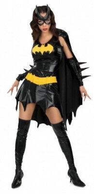 Halloween Costume Adult Women Bat Girl Superhero Dress With Cloak Mask - Bat Girl Halloween Costume