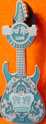 Fleur De Lis Serie (Hard Rock Cafe LOUISVILLE 2008 COUTURE GUITAR Series PIN Fleur-De-Lis DESIGN)