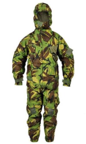 Genuine British MKIV. NBC, Chemical suit DPM Camo, Size Large.