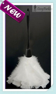 White Feather Duster for French Maid Costume Fancy Dress Halloween Accessories (Feather Duster Halloween Costume)