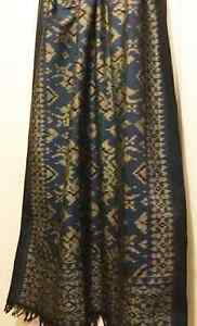 NEW Hand Loom Scarf know as Cotton Silk