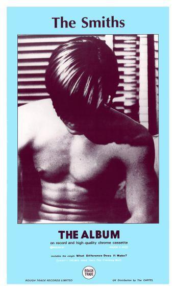 """the SMITHS  - 24"""" POSTER - The Album -  1st Promo ad - Morissey Johnny Marr 1984"""