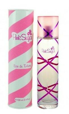 Pink Sugar by Aquolina 3.4 oz EDT Perfume for Women New In Box](Pink Perfume)