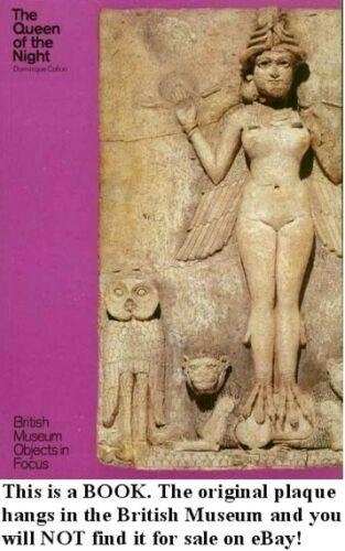 Babylon Mesopotamia Goddess Ishtar Lilitu Biblical Lilith 1800BC Shrine Plaque