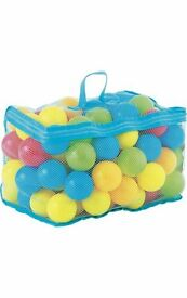 97 pieces of multi-coloured play balls without box