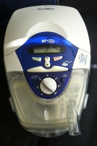 CPAP ResMed Machine with 2 Nasal Masks with Headgears