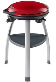 Outback Trekker Gas Series Compact BBQ in red