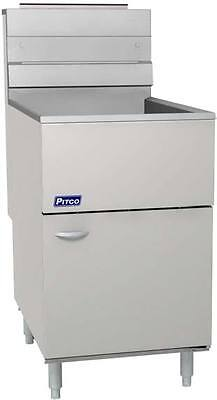 Pitco 65cs Economy 65 - 80 Lb Tube Fired Gas Fryer W Millivolt Control