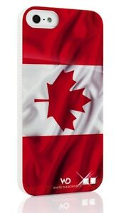 NEW-iPhone 5 Case-Canadian Flag with Swarovski Diamonds