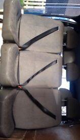 3 back seats for a transit or similar van