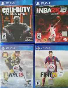Nba 2k16, Call of Duty Black Ops III, fifa15 , Nhl15 for PS4 London Ontario image 1