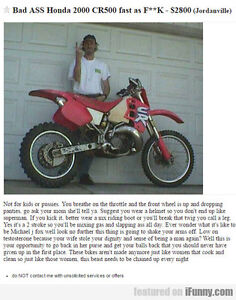 Project Dirt Bike Wanted
