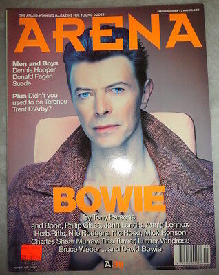 British Arena UK 1993 David Bowie Dennis Hopper Djimon Hounsou Trent D'Arby