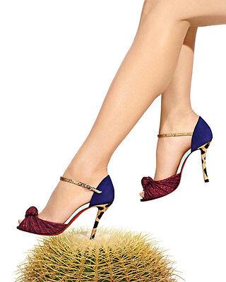 NIB Auth Christian Louboutin Marchavekel Knot Open Toe Sandals Pumps 36.5 $945
