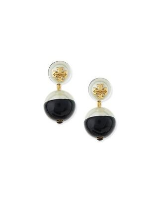 Tory Burch Evie Drop Earrings With Dustbag