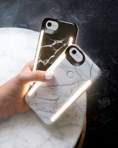White Marble Lumee case iPhone 7 Plus