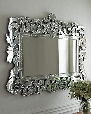 Giorgia Venetian-Style Mirror Neiman Marcus Horchow