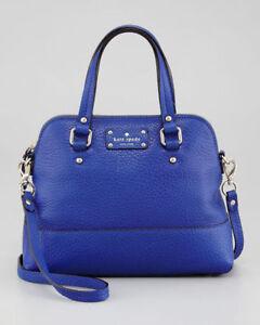 "Kate Spade ""Grove Court - Maise"" ~ Royal Blue Handbag"