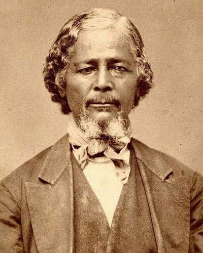 AFRICAN AMERICAN ACTIVIST-Benjamin Pap Singleton-Former Slave-Businessman-PHOTO
