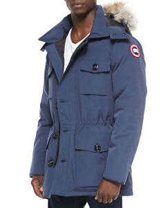 Canada Goose Banff Parka/fur-trim Hood (Pre-owned)