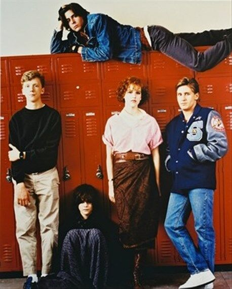 THE BREAKFAST CLUB MOVIE PHOTO 8x10 Photo classic pic 24544