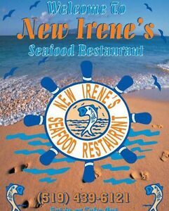 Irene's Seafood & Grill hiring Part-Time Cook! London Ontario image 1