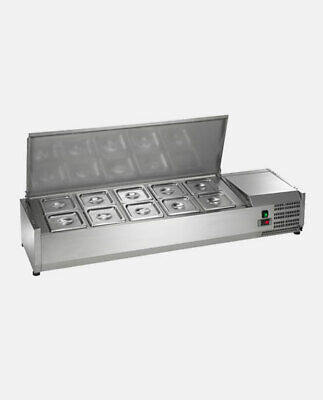 Arctic Air Acp55 55 Refrigerated Countertop Condiment Prep Station Nsf