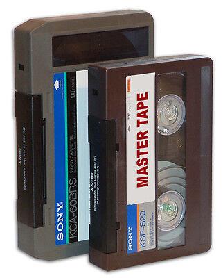"""3/4"""" U-Matic Video Tape Transfer Umatic Convert Service to DVD or AVI, MP4"""