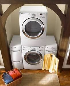 Maytag front load stackable washer and dryer set for sale