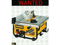 DEWALT TABLE SAW - 240V DW745 - WANTED