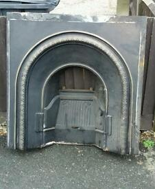 Cast iron fire place