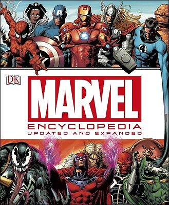 Marvel Encyclopedia: Updated & Expanded--Hardcover on Rummage