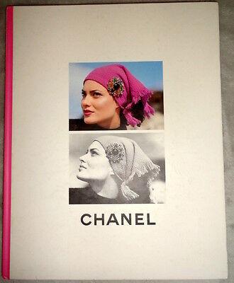 Vtg CHANEL catalog book 1995 Claudia Schiffer Kristen McMenamy Karl Lagerfeld