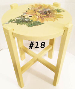 Assortment of side tables, bedside dresser, telephone table West Island Greater Montréal image 1