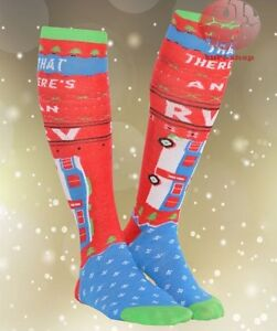 New Christmas Vacation Eddie An RV Christmas Knee Hight Socks