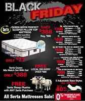 An event to beat the rest! Mattresses form $77,bunks,bedroom set