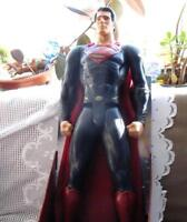 "31"" FANTASTIC SUPERMAN SUPER HERO ARTICULATED DOLL, NEW IN BOX"