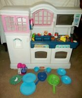Little Tikes Tykes Kitchen, China Cabinet Hutch or Fisher Price